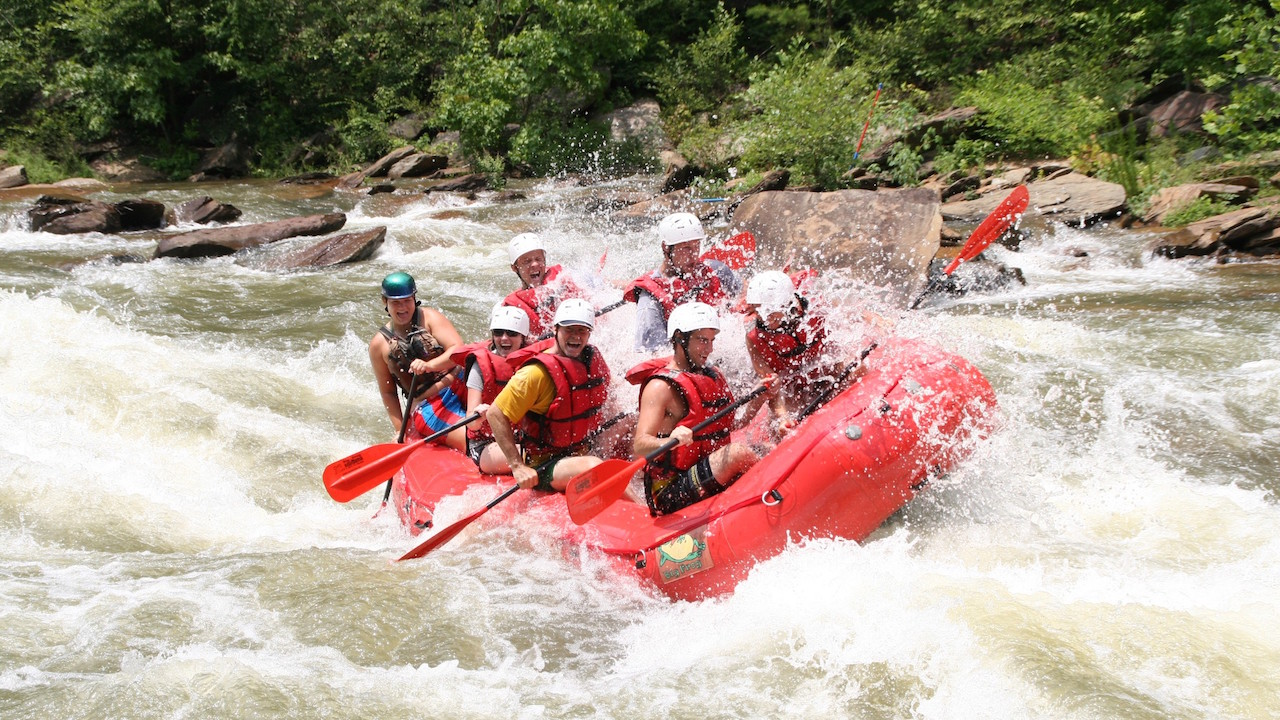 Whitewater Rafting the Ocoee River in Tennessee