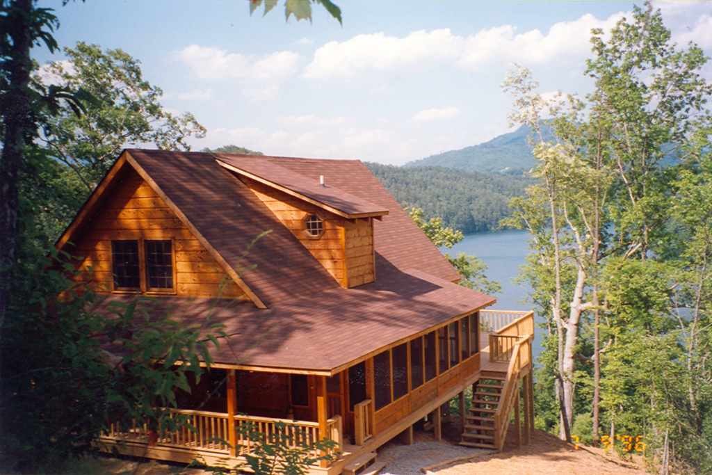 mountain lake cabin wilderness lake vacations